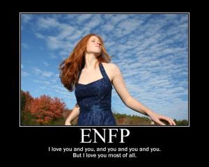 ENFP love