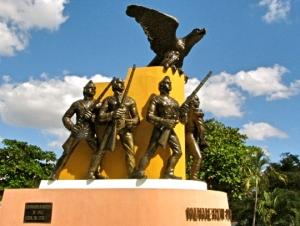 Monumento a los Niños Héroes en Mejorada