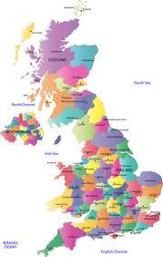 mapa gb