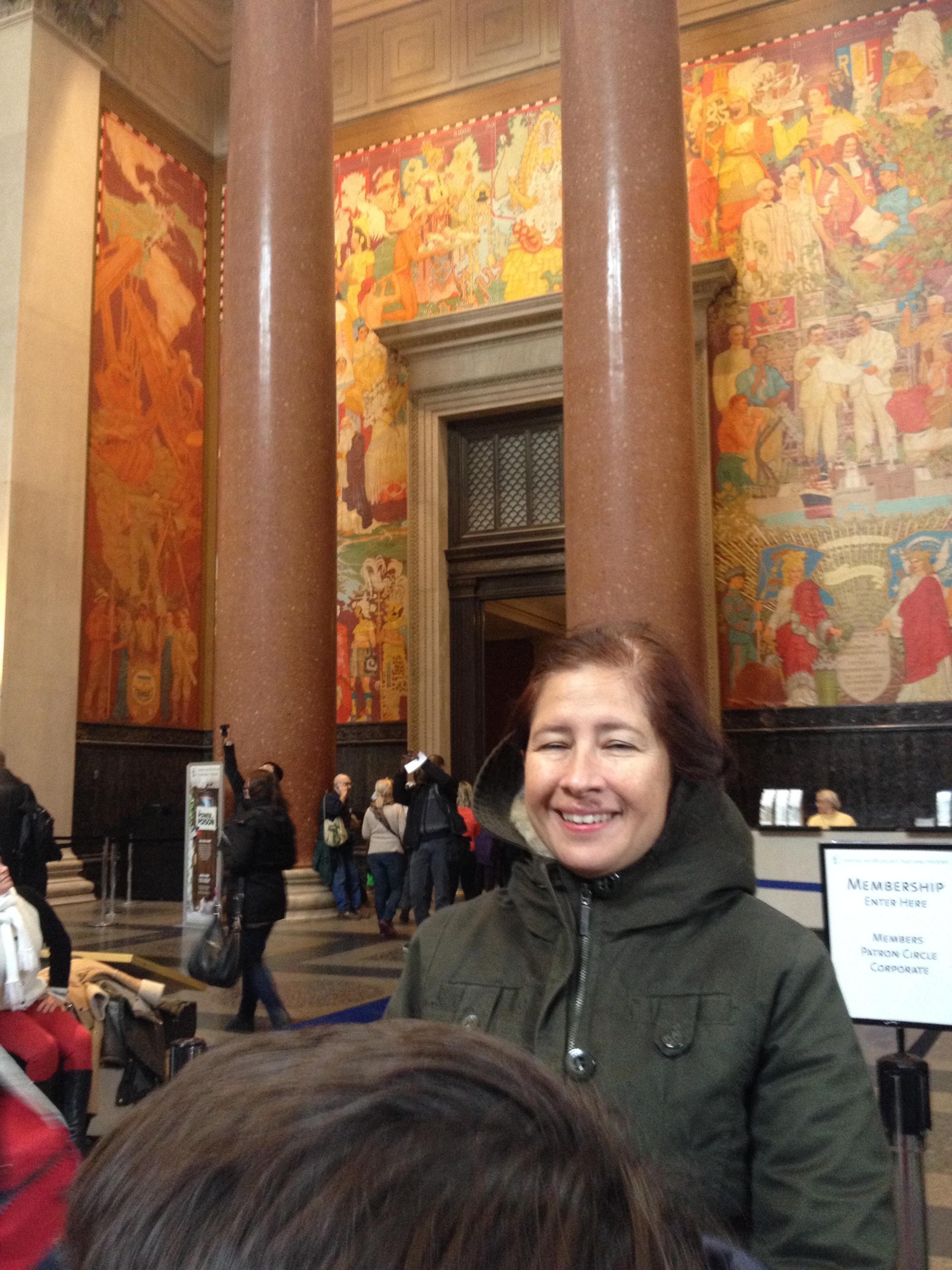 Es un museo! Enorme! Como todo en Nueva York