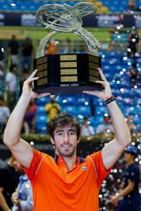 El uruguayo Pablo Cuevas ganó el torneo de Sao Paulo.