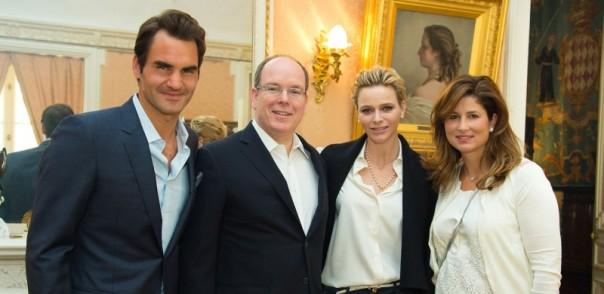 Alberto invitó a Federer y Mirka a comer con ellos.