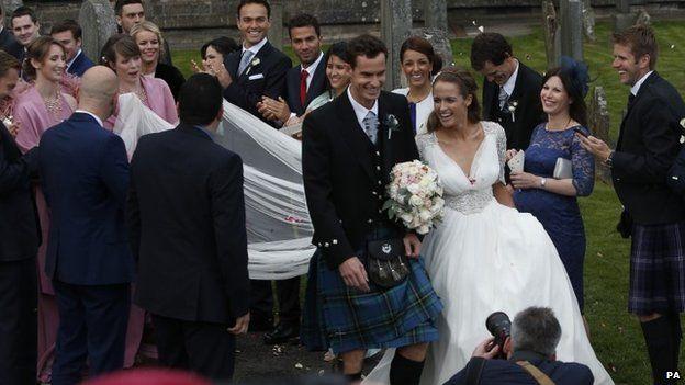 Matrimonio In Kilt : La boda de andy murray lucycervera