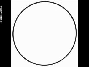 Calibration circle, Jon Lomberg-M