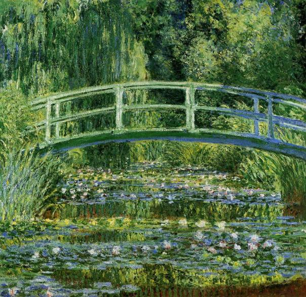 """Water-Lilies-and-Japanese-Bridge"""