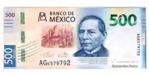 500 pesos